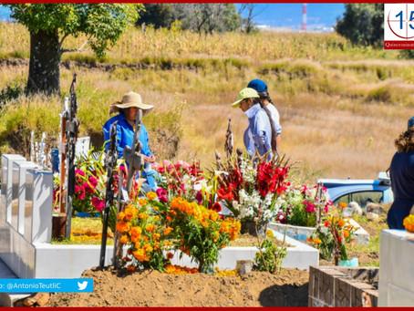 Cumplen panteones de Puebla medidas por Covid-19