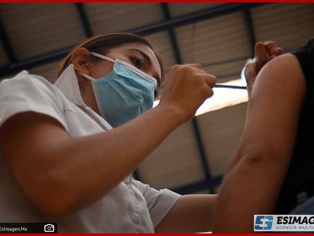 Aplica sector salud 28 mil 816 dosis para prevenir Covid-19