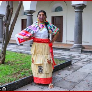 Impulsan tradiciones de Puebla con concurso de trajes típicos