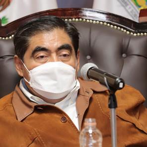 Trabajo conjunto con los 217 ayuntamientos de Puebla, reitera Barbosa
