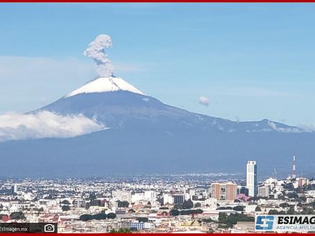 Mantiene gobierno estatal monitoreo permanente del volcán: Segob