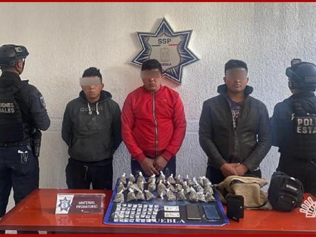 """Detienen a distribuidores de drogas de """"El Mamer"""""""