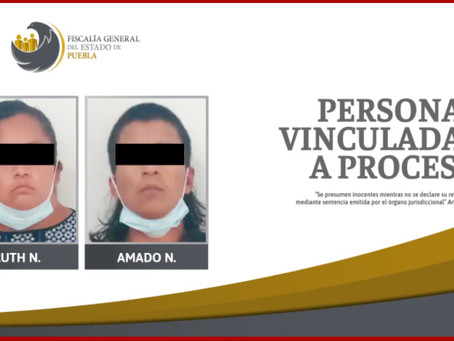 Vinculan a proceso a madre y padrastro de Kimberly