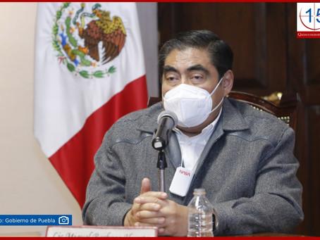 Respalda gobierno de Puebla Plan Nacional de Vacunación de AMLO: Barbosa