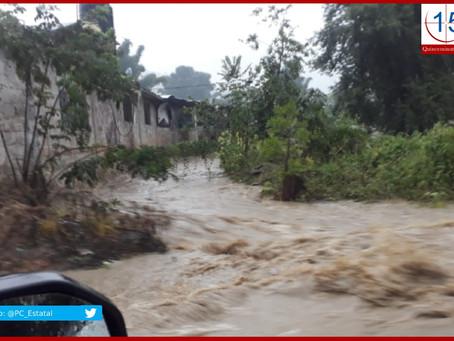 Afectados por lluvias ocho municipios poblanos: Segob