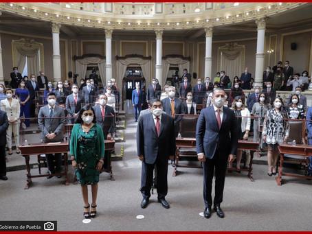 Acude gobernador Barbosa a la instalación de la LXI Legislatura