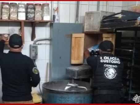Realiza SSP operativo de revisión en penal de Cholula
