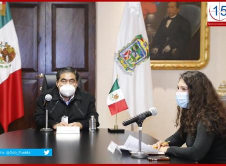 Recorte a Puebla será de 5.9 % en términos reales: Finanzas