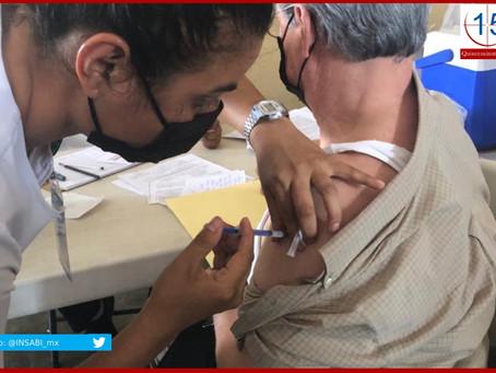 Prevé Salud iniciar vacunación contra la Covid-19 en 156 municipios