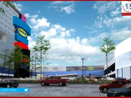 Radicará IKEA en Puebla su segunda tienda en México