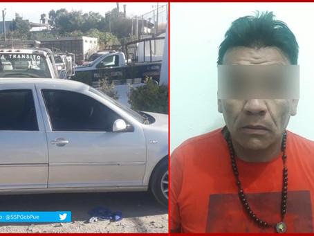 """Cae presunto líder de """"Los Tlana"""" de Texmelucan"""
