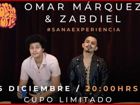 Omar Márquez y Zabdiel, en Puebla con un concierto íntimo e intenso