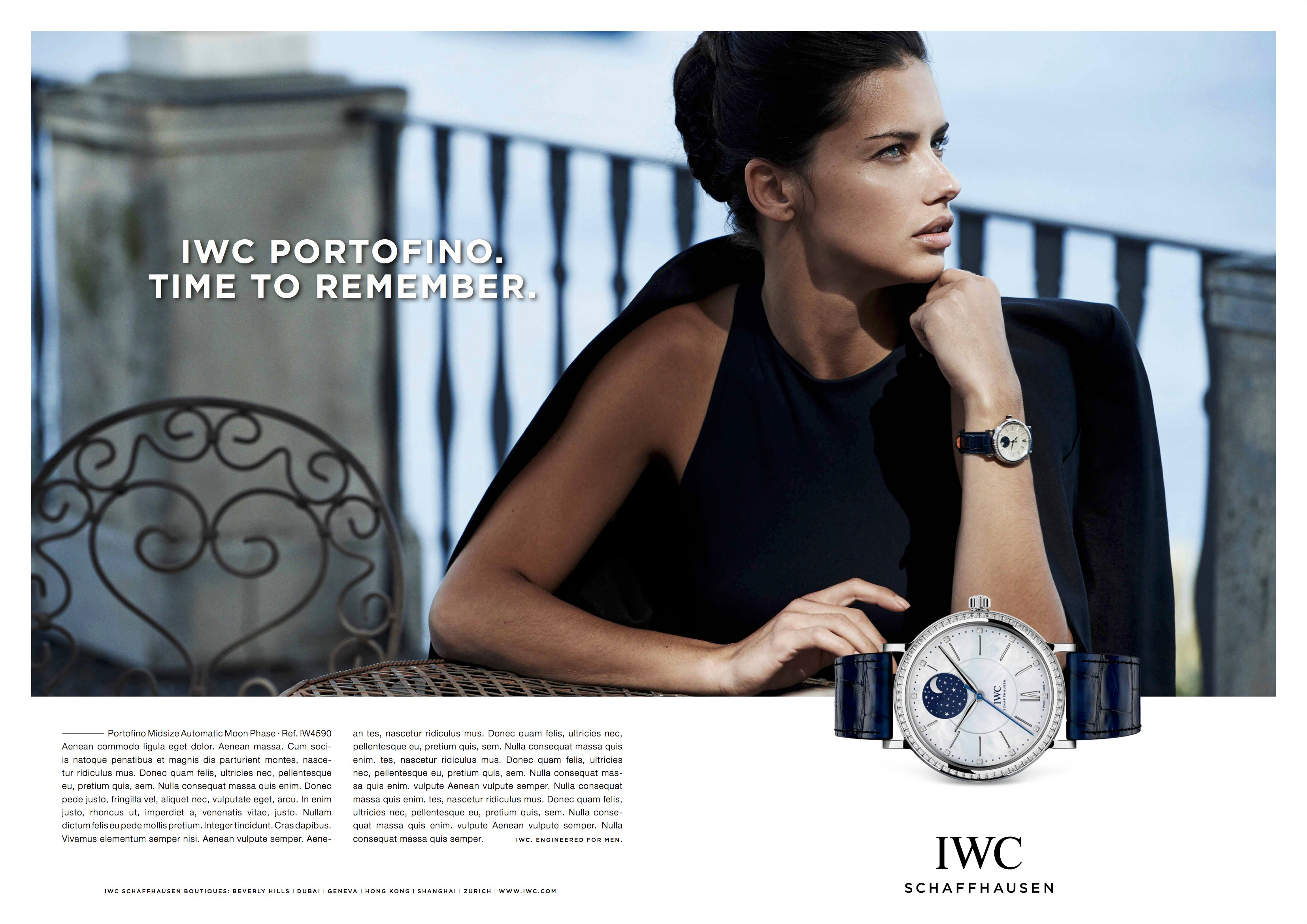 IWC/photos Peter Lindbergh