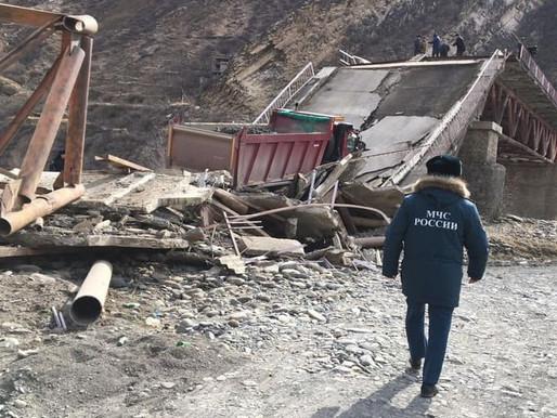 Мост в Дагестанет рухнул, так и не дождавшись реконструкции