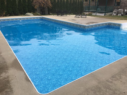 In-ground pool liner
