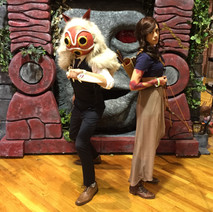 Sculpture:  Mononoke Mask