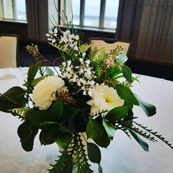 Thank you again to Venue ND for choosing Blossom Floral Design for your event today! #blossomflorald