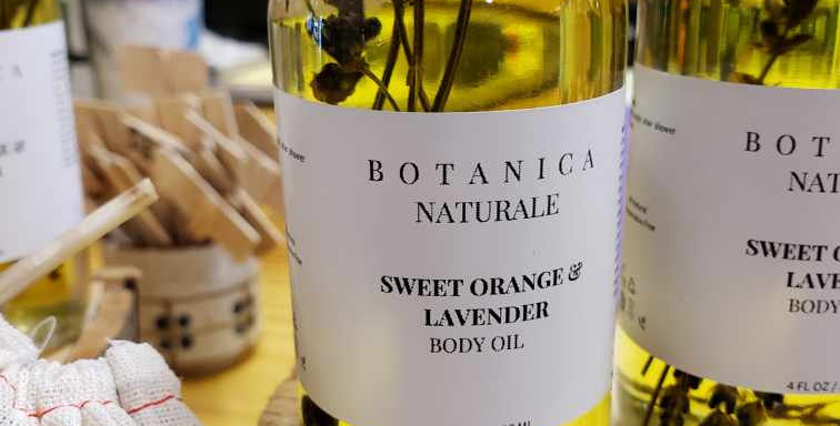 All Natural Sweet Orange and Lavender Body Oil