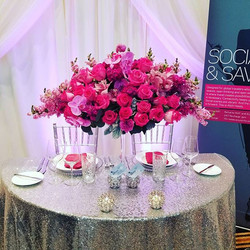 The Pink arrangement looked amazing!! Thank you Aloft South Bend for placing your order with Blossom