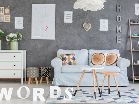 No Writing on the Wall: Why Writers Avoid Word Art in Their Living Spaces