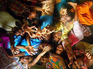 Accueillir orphelins Inde