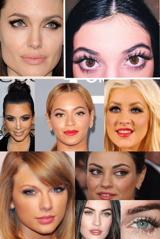 Celebrities that get Eyelash Extensions