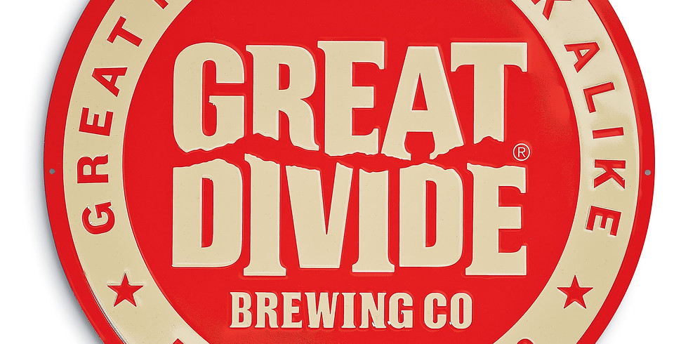 TAP TAKE OVER - Great Divide Brewing Co