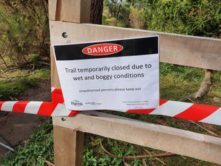 All MTB trails at Lysterfield are CLOSED