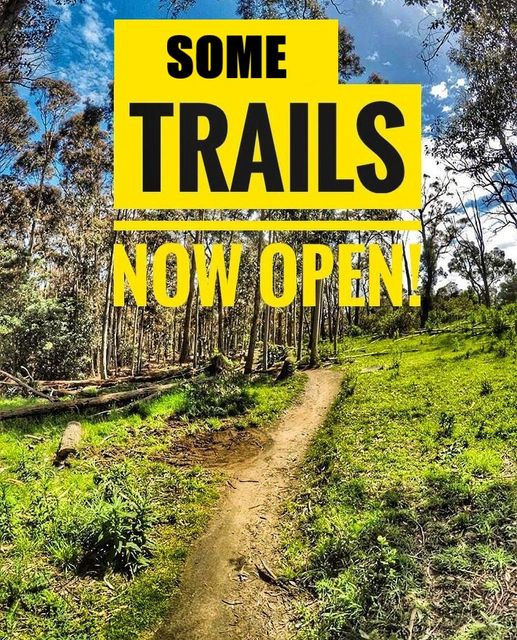 Some Trails - Now Open