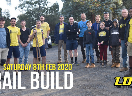 EVENT - Trail Build - Lil Shawty (08.02.2020)