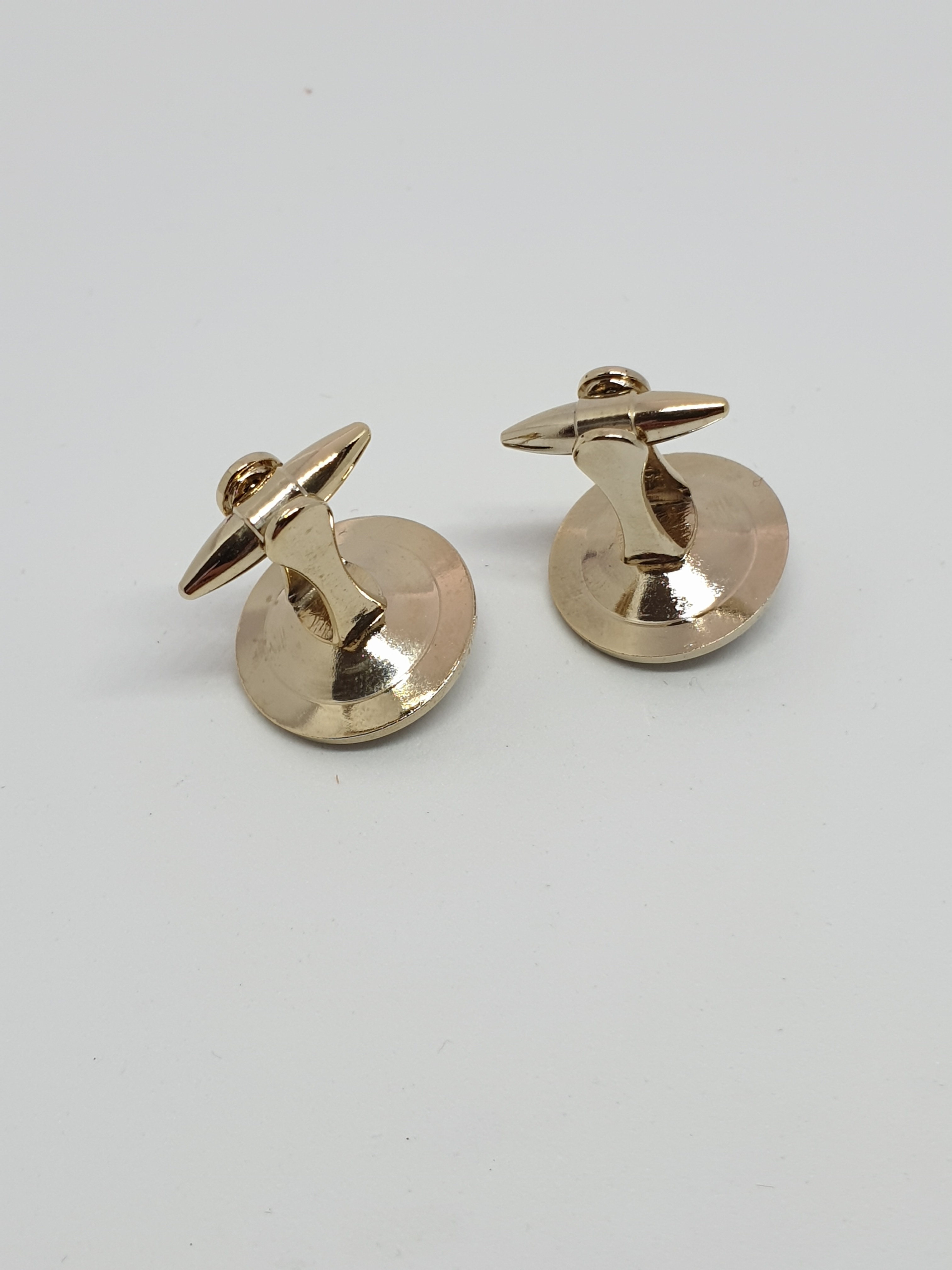Vintage 1950s STRATTON ENGLAND cufflink and tie pin set | Eligius Jewellery