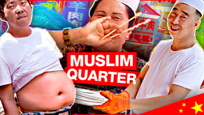 China's Muslim Quarter   HAPPY?!