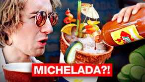 WHAT IS MICHELADA?!   Mexican Drink