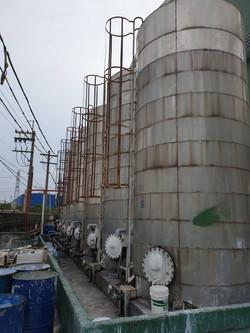 化工廠舊桶槽拆除