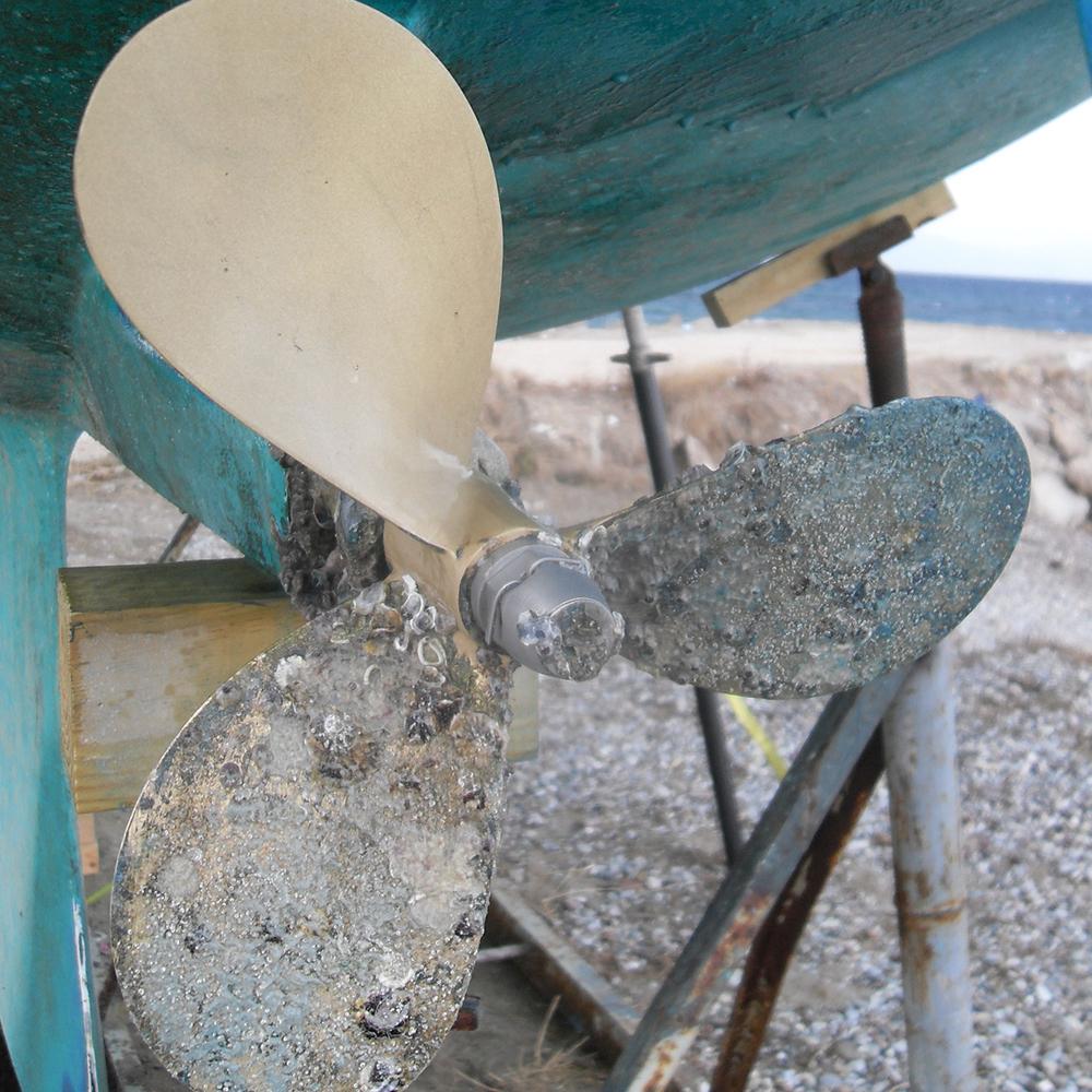 螺旋槳清除海生物