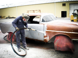 汽車全車除漆除銹換塗裝