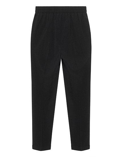 STEFFEN SCHRAUT Elastic Waist Business Dark Grey // Business-Hose mit elastische