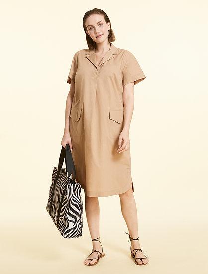 Marina Rinaldi Kleid aus Popeline
