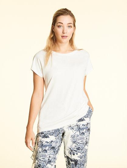 Marina Rinaldi T-Shirt aus Crêpe-Jersey