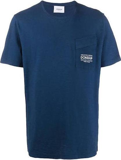 Dondup T-Shirt mit Brusttasche