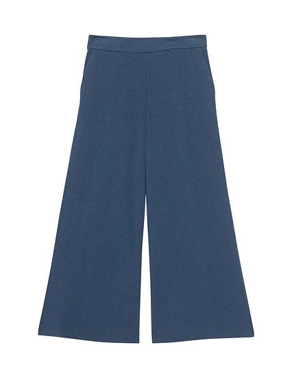 STEFFEN SCHRAUT Culotte Smoky Blue // Culotte mit elastischem Bund