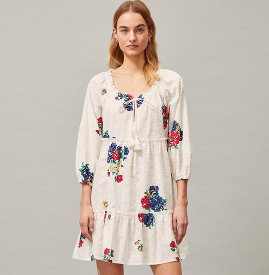 Tory Burch Kleid mit Blumenprint
