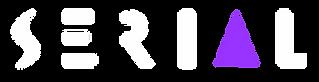 Serial Logo - White w Transparent Backgr