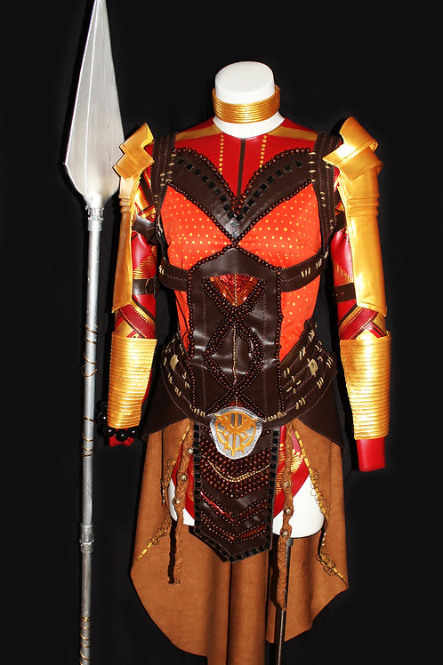General Okoye's Dora Milage Suit