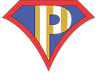 Powered by Possible logo, Superman, Poppy