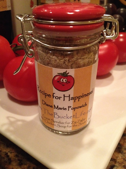 Secret Spices for The Recipe for Happiness Spaghetti Turkey & Rosemary Meatball