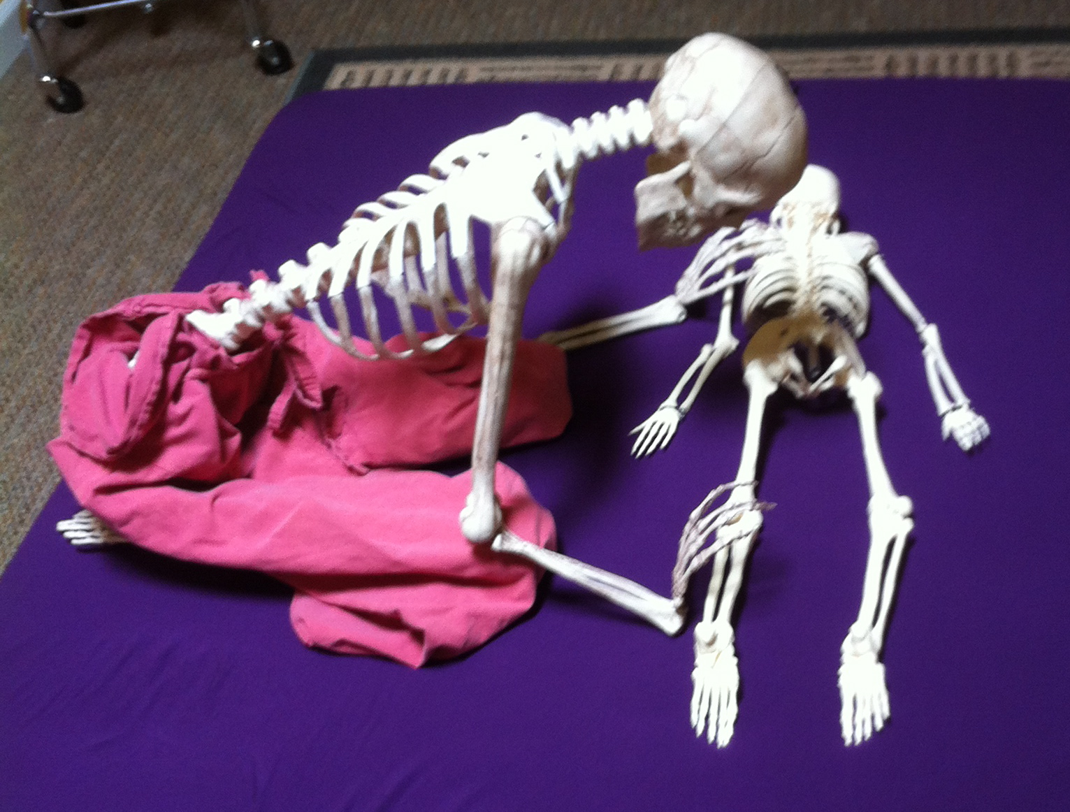 Massage is good for bones & joints