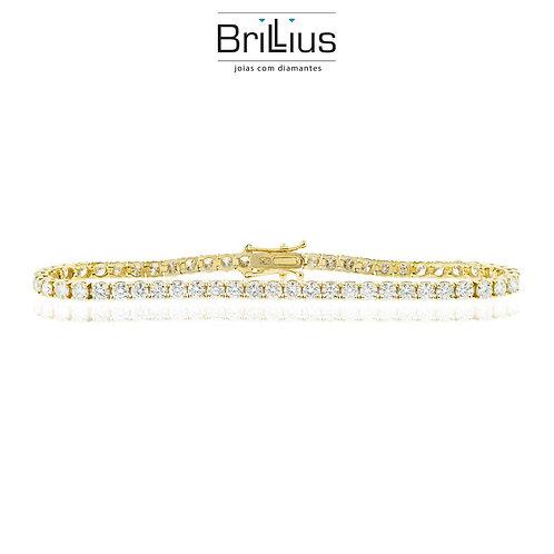 Pulseira Cartier 18K - Ouro branco ou amarelo