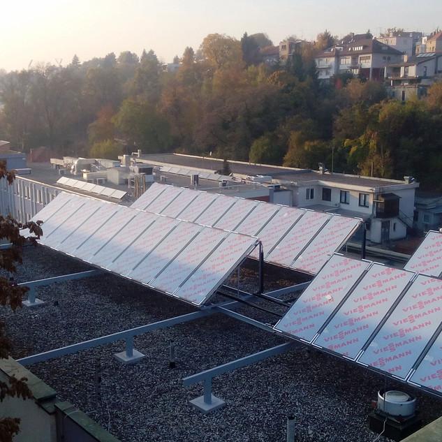Rekonstruktion des Kessels in der Klinik für Frauenkrankheiten und Geburten des Klinikzentrums KBC Zagreb