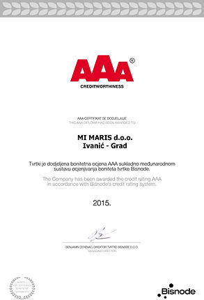 AAA 2015. godina